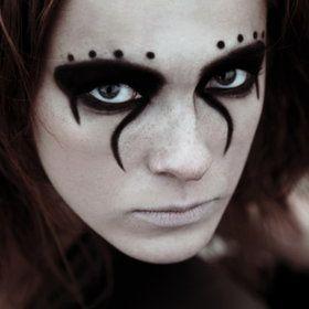 Cool makeup.