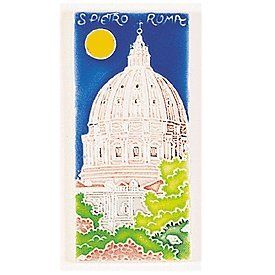 """Handmade St. Peter's Tile From Italy by Amalfi. $13.00. (the rest was to """"wordy"""") Hang it, use it in the kit. backsplash, on your pool, etc!"""