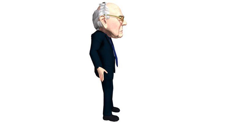 Bernie sanders caricature ad3d sandersberniecharacters