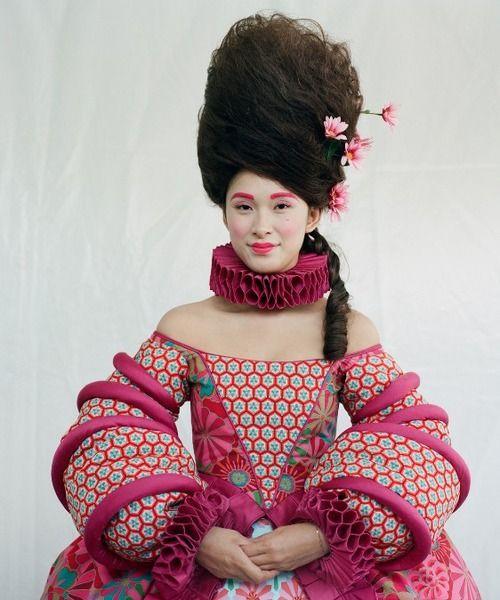 "Eiko Ishioka - ""the higher the hair, the closer to god."""