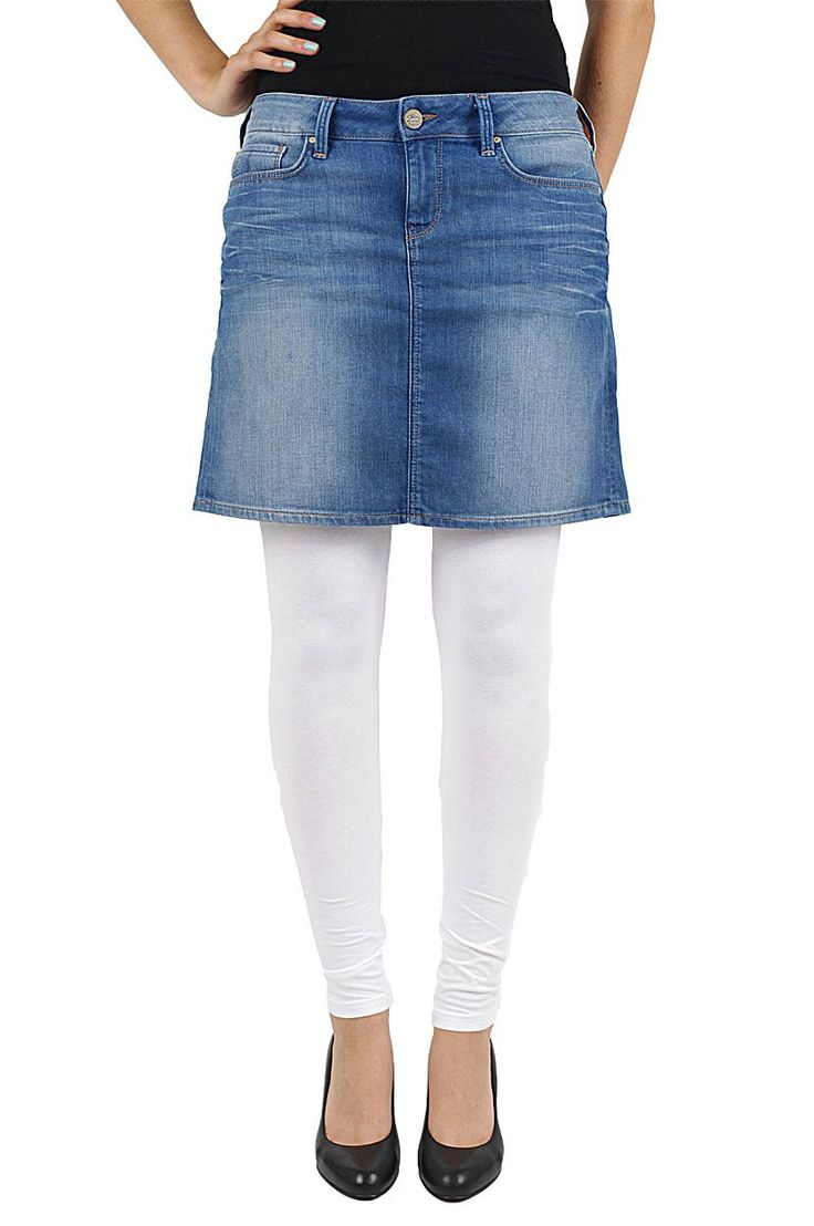 Ein Denim Klasikker der Jeans Rock von Mavi Jeans.