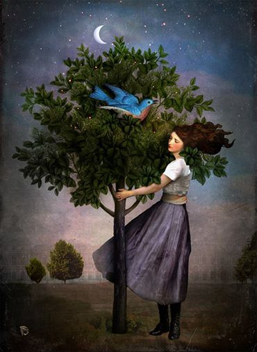 """A Bluebird's Song"" by Christian Schloe"
