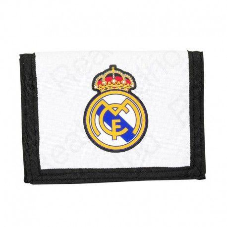 Billetera del equipo de #fútbol Real Madrid. Tamaño: 12,5x9,5cm. 7,56 €.