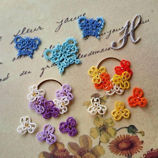 ワークショップのお知らせ  4月17日(日)13時~15時30分  心斎橋ナチュラルセラピー フーラさんにて、ワークショップを開催します! @fura_room  初心者の方は80番の糸でビオラのレース3個(イエロー系かパープル系のどちらかお選びください。)を製作。  経験者の方は40番の糸でブルーの蝶々を作ります。スプリットリングやモックリングを駆使した小さな蝶々ですので、新たなテクニックの練習にも良いかもしれません。  お問い合わせは info@fura-room.comまで。  皆さまのご参加をお待ちしております!  #ブランボヌール#blancbonheur#タティングレース#tattinglace#frivolite#オーダーメイドレース#ordermadelace#ウエディング#wedding#ビオラ#蝶々#violet#butterfly#fura_room