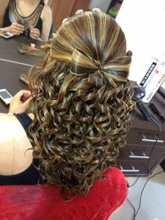 Fabulous Waterfall braid with curls hair Style Trends For Girls