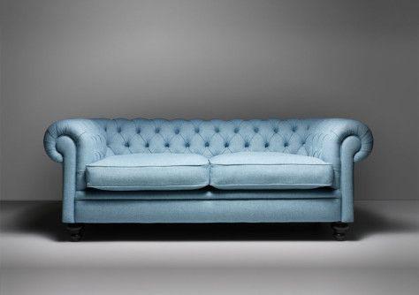 Clásicos del diseño: sofá Chesterfield