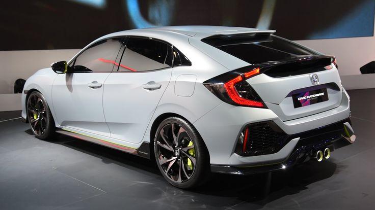 2017 Honda Civic Hatchback Prototype First Look - 2016 Geneva Motor Show