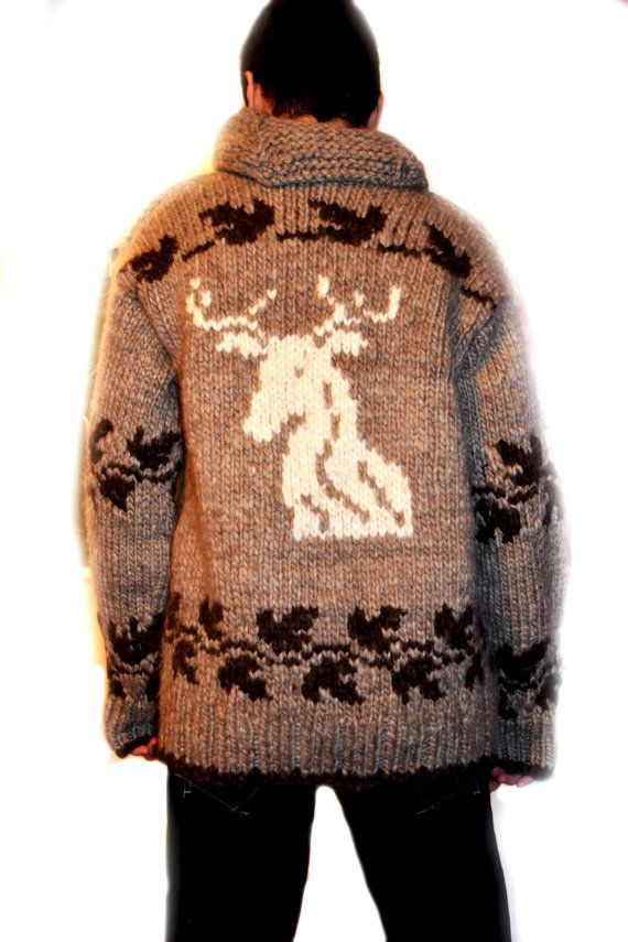 Knitting Patterns For Curling Sweaters : #CowichanSweater ~ Authentic Cowichan #Sweater!!! Hand ...