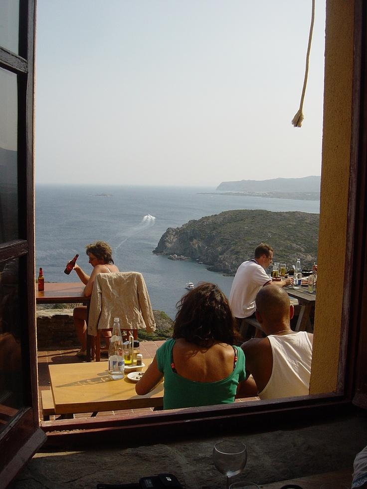This restaurant at Cap de Creus has a great view!