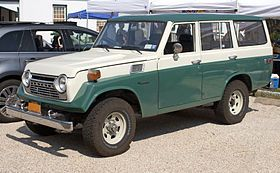 Toyota Land Cruiser - Wikipedia, the free encyclopedia