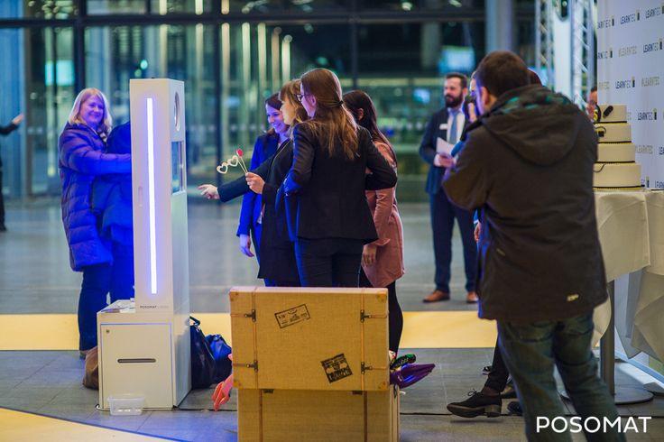 Fotoautomat bei der Messe Karlsruhe. Viele Kunden hatten ihren Spass, auch bei der Party nach der Messe!