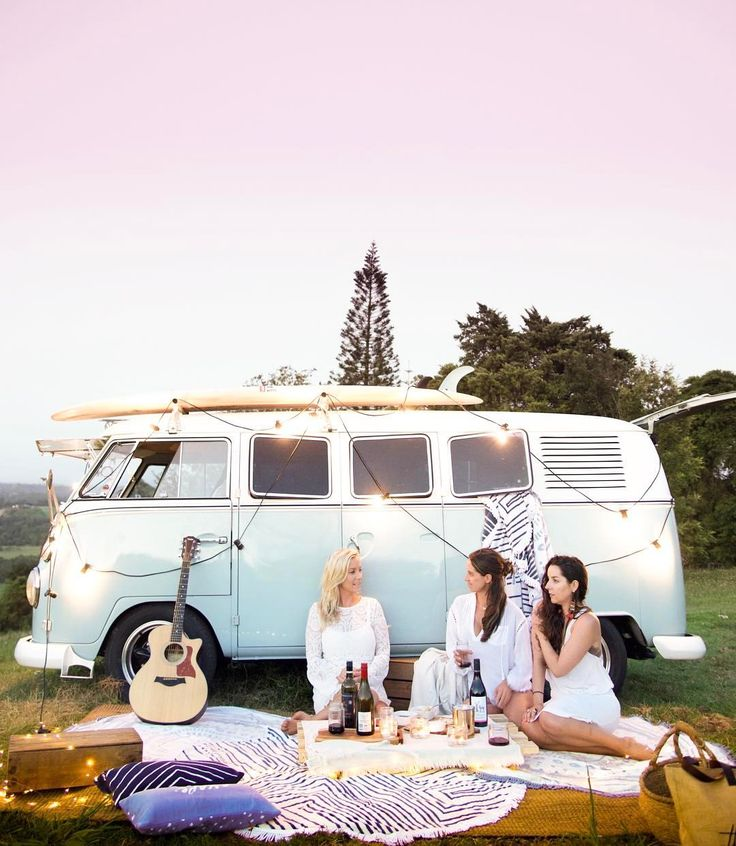 """1,078 Likes, 45 Comments - Travel Photographer (@saltyluxe) on Instagram: """"✦☽ Just a few friends cruising the palm lined hinterland roads of Byron Bay in their VW. Dreamy ✨ …"""""""