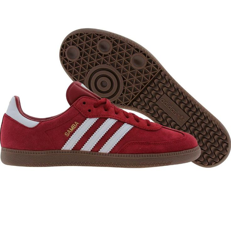 adidas samba cardinal red