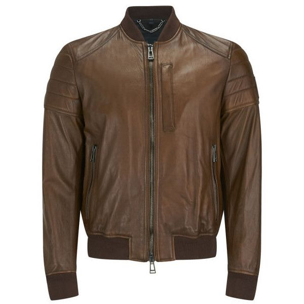 Die besten 25  Brown leather motorcycle jacket Ideen auf Pinterest ...