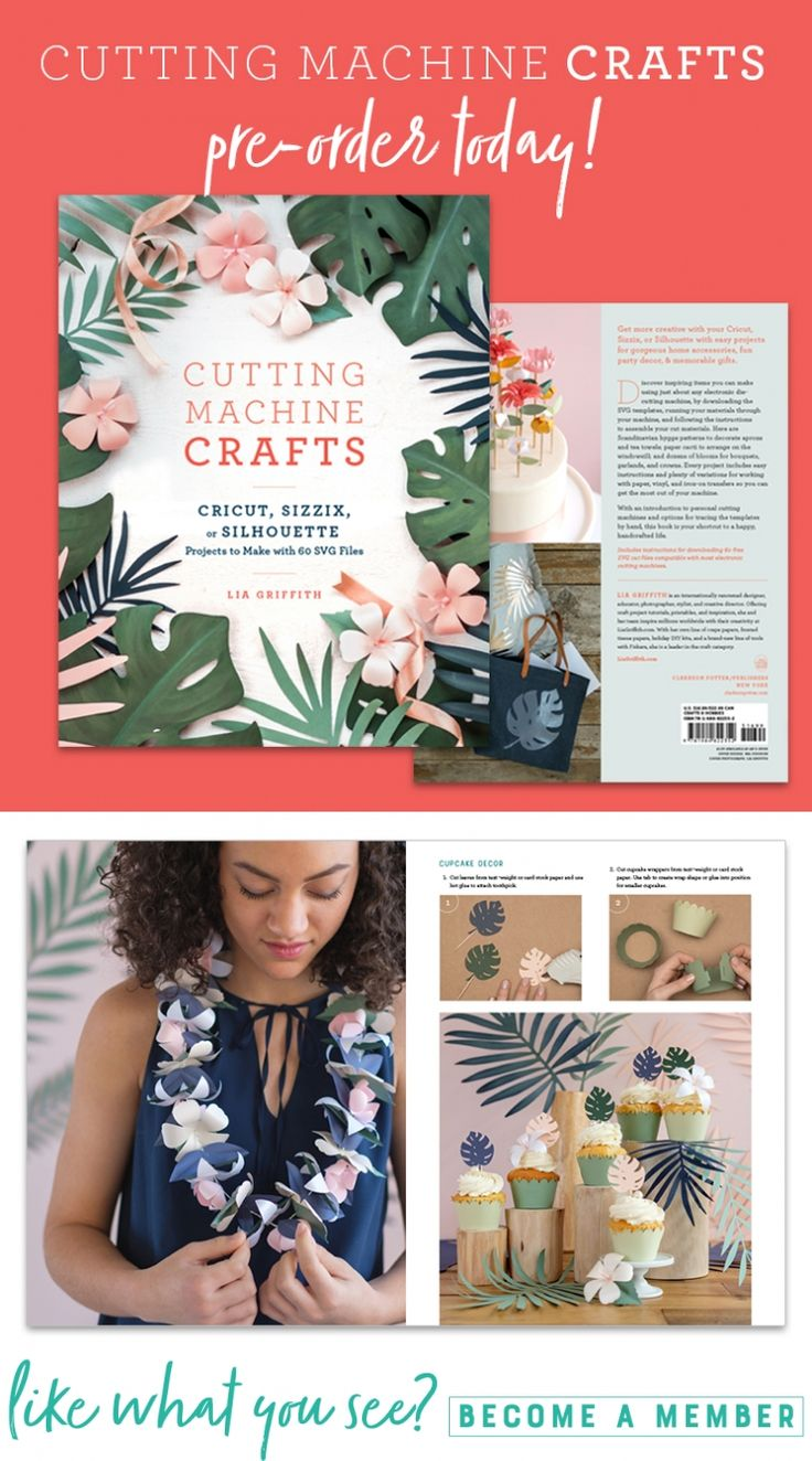 We're thrilled to announce that our latest book, Cutting Machine Crafts is now available for preorder on Amazon! ⠀⠀⠀⠀⠀⠀⠀⠀⠀ Thought cutting machines were just for card-making and scrapbooking? Well, think again! This book features 50 easy projects and 60 SVG cut files to go with them. Get a sneak peak inside our latest book here https://liagriffith.com/preorder-cutting-machine-crafts/⠀⠀⠀⠀⠀⠀⠀⠀⠀ *⠀⠀⠀⠀⠀⠀⠀⠀⠀ *⠀⠀⠀⠀⠀⠀⠀⠀⠀ *⠀⠀⠀⠀⠀⠀⠀⠀⠀ @clarksonpotter ⠀⠀⠀⠀⠀⠀⠀⠀⠀ #cuttingmachinecrafts #liaslibrary…