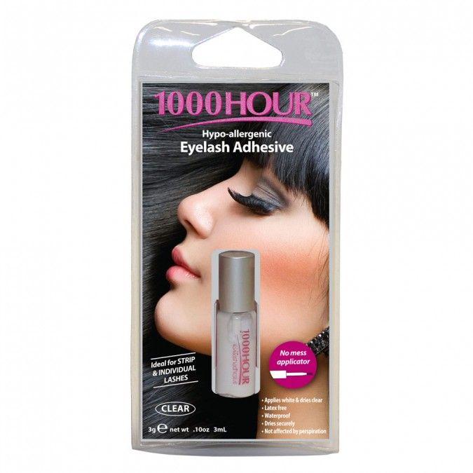 1000 Hour Eyelash Adhesive Clear 3 mL