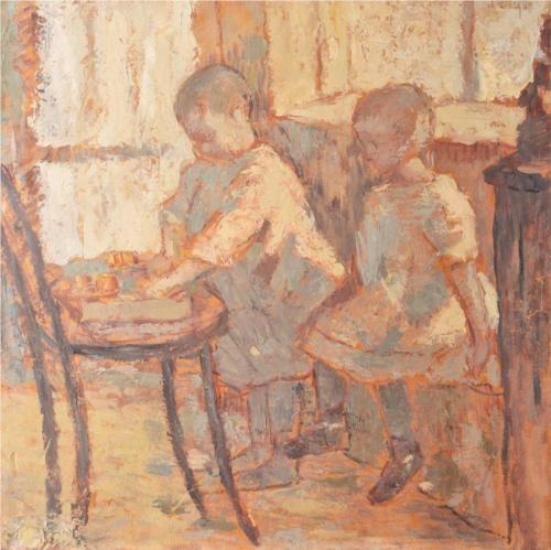 Childrens' Room - Nicolae Tonitza