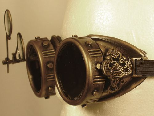 ~ Steampunk Goggles ~  I need to find some DIY stuff..
