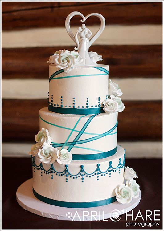 Best 25 Teal Wedding Cakes Ideas On Pinterest Pastel