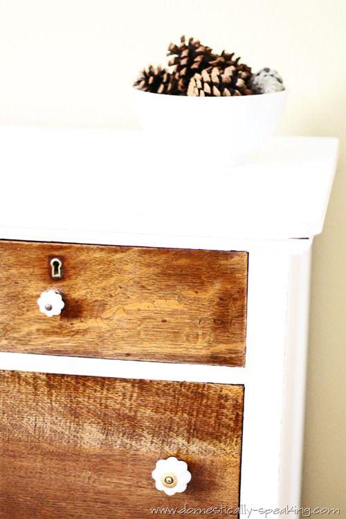 Storage Auction Treasure Dresser @ Domestically Speaking