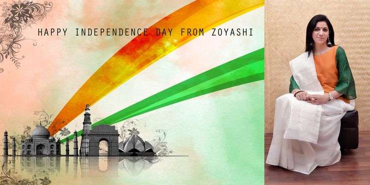 Get dressed up for the Independence Day 2015 with @inZoyashi  #Zoyashi #IndependenceDay
