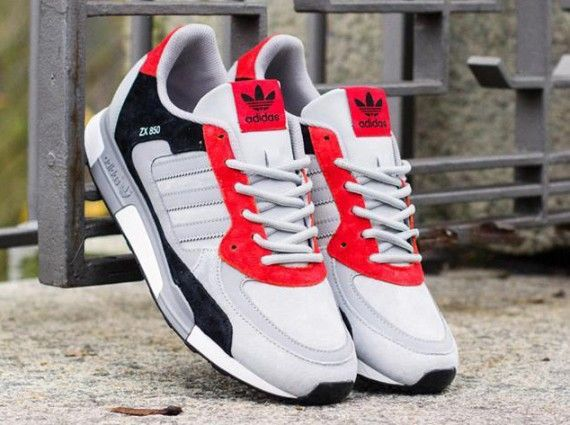 adidas originals zx 850 leather sneakers