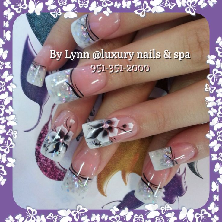 8 best Two tone nail design images on Pinterest | Nail design, Nail ...
