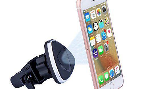 SURWELL support telephone voiture: Ventouse ultra collante: Ventouse sécurisée colle bien sur le pare-brise, le tableau de bord, ou…