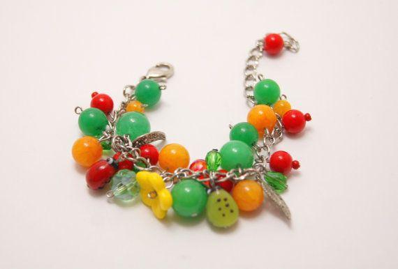 MARCHSALE16 Bunte Armband bunte Perlen Armband bunte von Bijou925