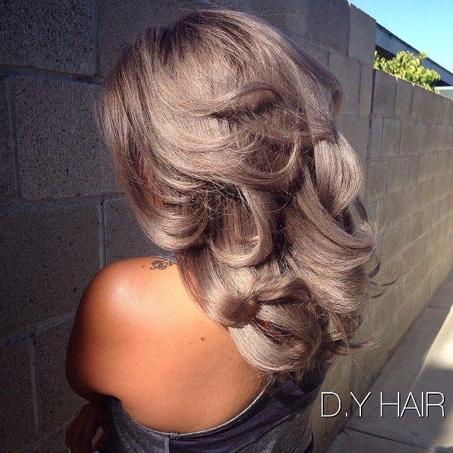 Amazing pastel silver hair