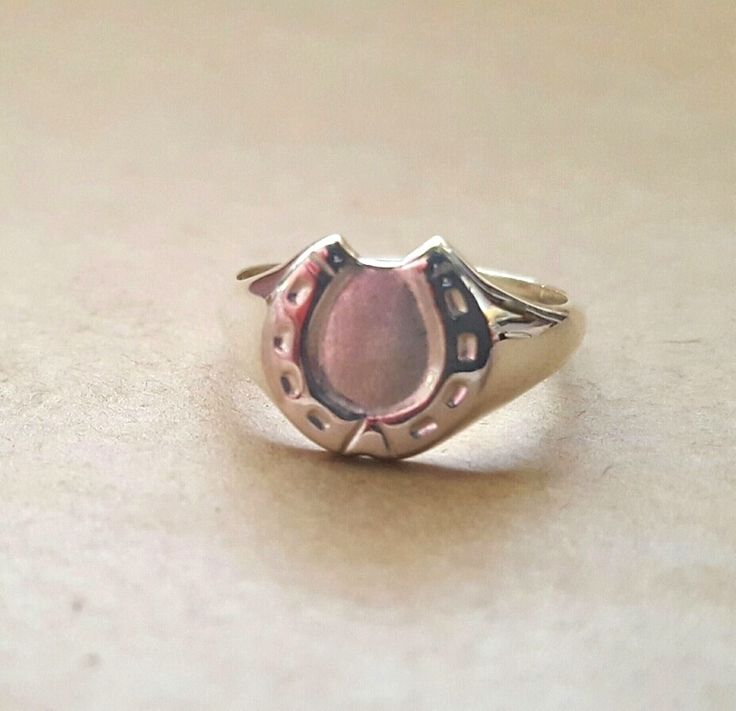 Ring - HORSESHOE - Sterling Silver or 9ct Gold