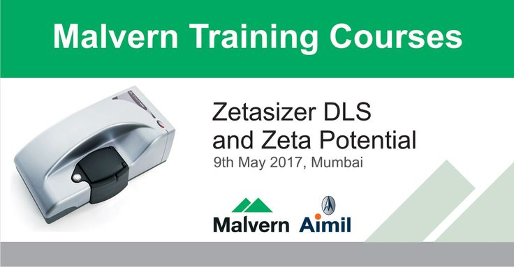 Join the Malvern Training Course on Zetasizer DLS and Zeta Potential on 9th May' 17 at #Mumbai.