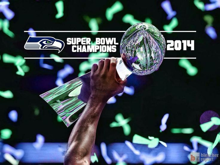 Seattle Seahawks Super Bowl Champions 2014