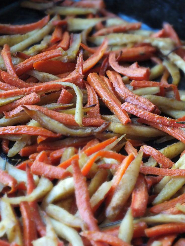 Ízőrző: Mézes-mustáros gyökérzöldségek sütve
