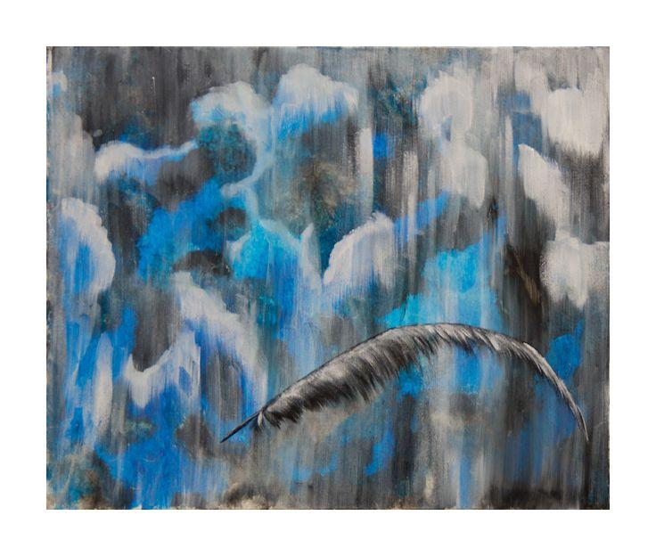 Si seule 46x38 #tableau #peinture #plume