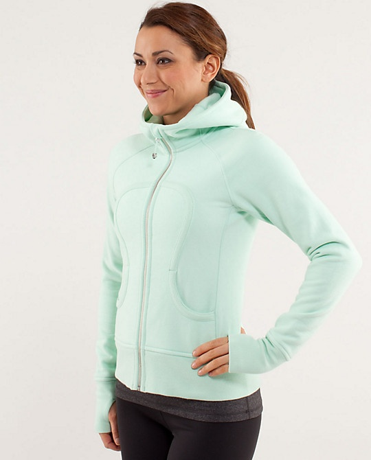 Scuba Hoodie*Stretch in mint moment, love the color!