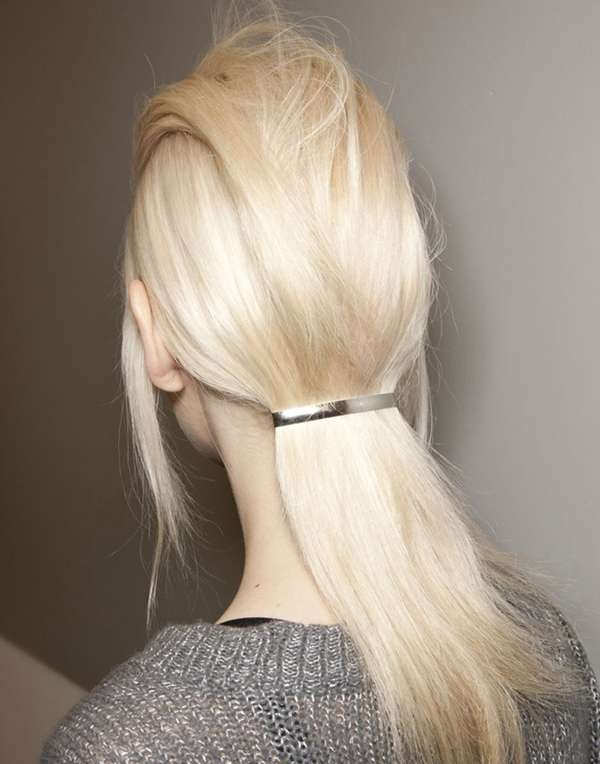 sliver of silver #hair