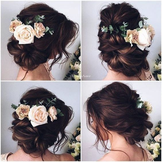 Acconciature sposa: le ultime tendenze capelli pensate per i matrimoni  2016 catturate su Pinterest