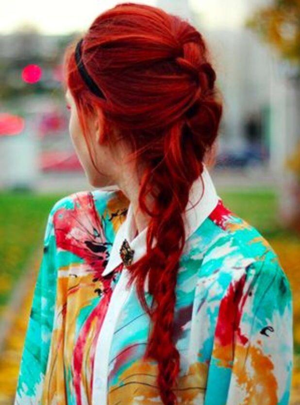 Red hair/ Cabelo vermelho                                                                                                                                                      Mais