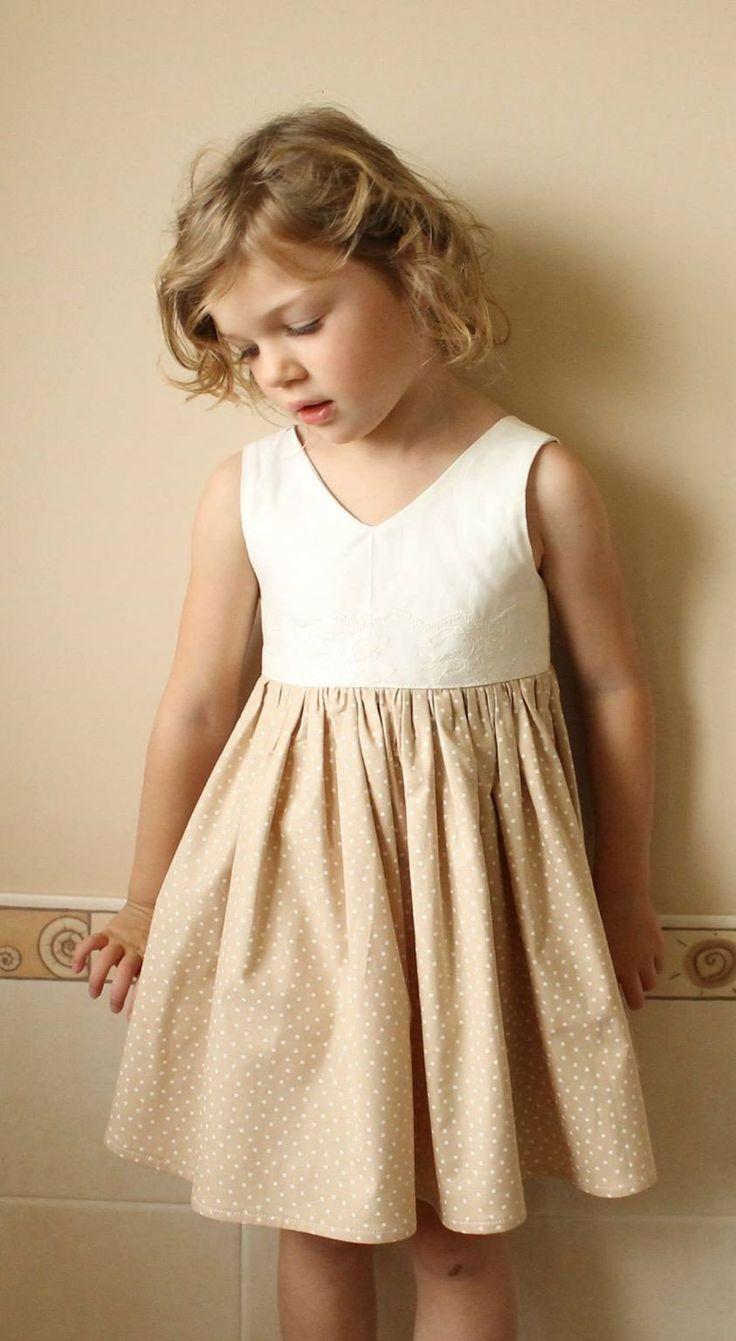 Surpresa! Tea Party Dress – Novo lançamento de padrão   – Baby Kids