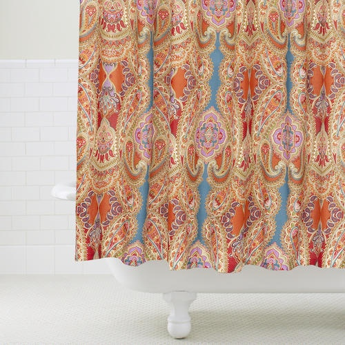 Paisley Venice Shower Curtain The O 39 Jays Dining Rooms