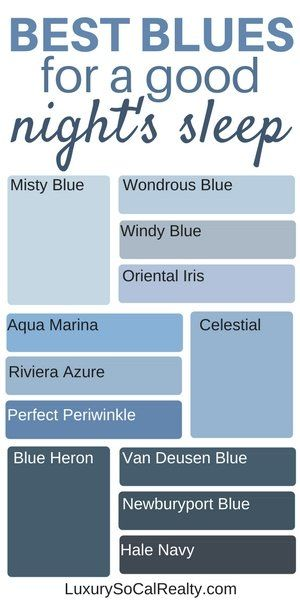 What Colors Make You Sleep Better Best Bedroom Colours