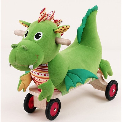 Toys Ride On Toddler Unisex Boys Dragon Nursery Bright Colors Fun Adorable New on eBay!