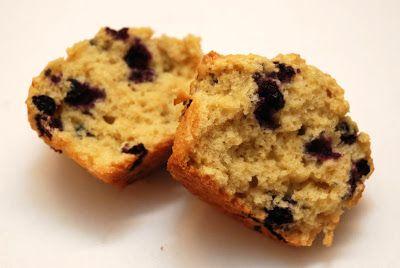 Pludrehanne: Deilige blåbærmuffins