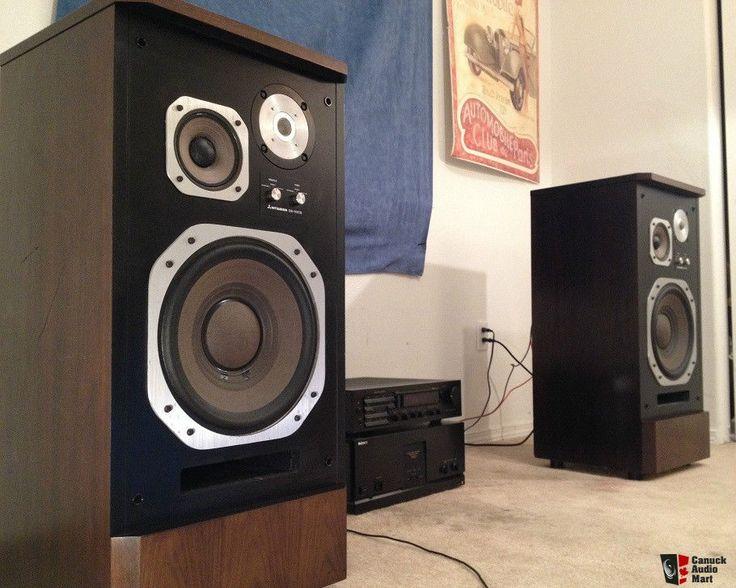 Ultra Rare Diatone DS-50CS Audiophile Speakers