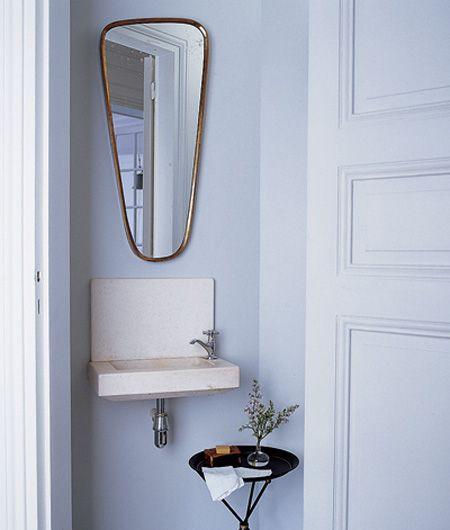 Small powder room lavabo pinterest - Small powder room sink ...