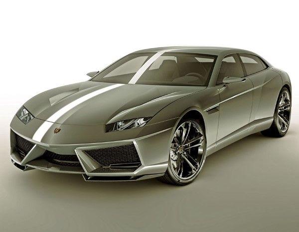 Nice Lamborghini Estoque, Se Llegó A Plantear Su Producción, Pero Por Suerte  Lamborghini Se Echó