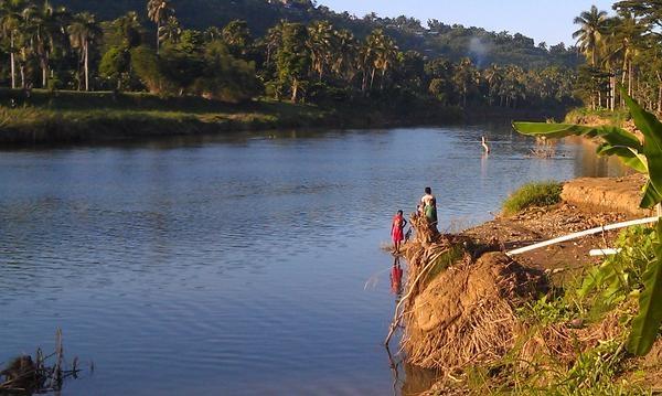 Grand Anse River, Jeremie, Haiti - photo by Robin Fritz