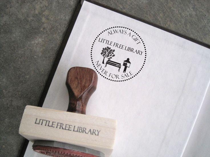 Standard Artisan Stamp | Little Free Library