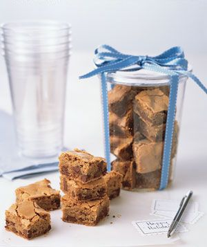 Christmas Brownies! Ginger Chocolate-Chip Bars-- they are JUST SO DELICIOUS.